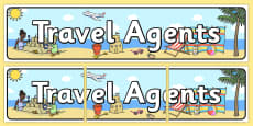 Travel Agents Themed Banner