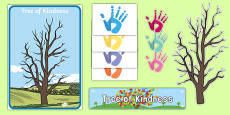 Tree of Kindness Display Pack