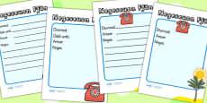 Travel Agents Telephone Message Sheets Welsh Translation