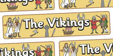 Vikings Display Banner