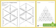 Nervous System Tarsia Triangular Dominoes