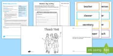 Workers' Day 1st May Lesson Teaching Pack