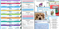 EYFS Winter Themed Lesson Plan Enhancement Ideas and Resources Pack