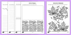 Teacher Doodle Activity Booklet