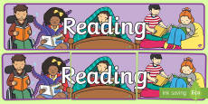 Reading Display Banner