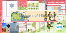 PlanIt - French Year 4 - Holidays and Hobbies Additional Resources