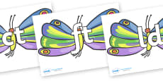 Final Letter Blends on Beautiful Butterflies to Support Teaching on The Very Hungry Caterpillar