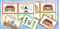 Fruit and Vegetable Shop Role Play Challenge Cards Arabic Translation