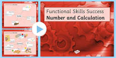 Functional Skills Number and Calculation Success PowerPoint