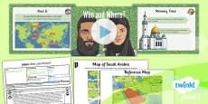PlanIt - RE Year 3 - Islam Lesson 1: Who and Where Lesson Pack
