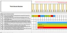 Social Studies CfE Third Level Assessment Spreadsheet