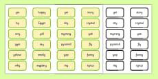 Alternative Pronunciation of Y Sorting Game