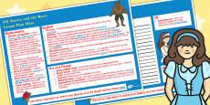 Beauty and the Beasts KS1 Lesson Plan Ideas Editable