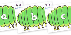 Phase 2 Phonemes on Fat Caterpillars to Support Teaching on The Very Hungry Caterpillar