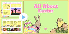 SEN All About Easter PowerPoint