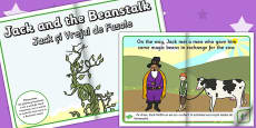 Jack and the Beanstalk eBook EAL Romanian Translation