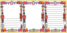 Royal Page Borders