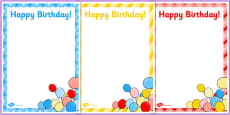 3rd Birthday Party Editable Poster