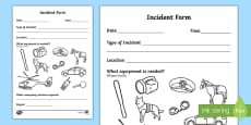 Garda Incident Form