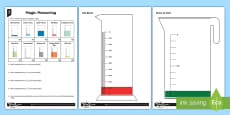 Solve Problems Involving Measure and Decimals Differentiated Activity Sheets