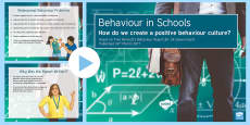 * NEW * The Behaviour Report: A Summary PowerPoint