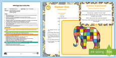 * NEW * EYFS Making Elephant Berries Finger Gym Plan and Resource Pack to Support Teaching on Elmer