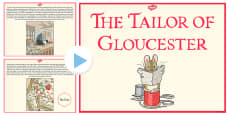 The Tailor of Gloucester PowerPoint (Beatrix Potter)