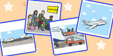 Sequencing Cards - Going on Holiday
