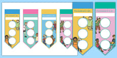 Ourselves Sticker Reward Bookmarks (30mm)