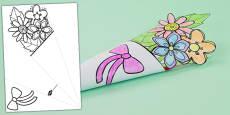 Australia - Mother's Day Paper Flower Bouquet
