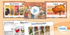 PlanIt - Science Year 1 - Seasonal Changes (Autumn and Winter) Lesson 3: Autumn Walk Lesson Pack