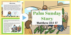 Palm Sunday Story PowerPoint