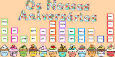 Birthday Graph Display Pack Portuguese