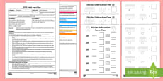 EYFS Skittles Subtraction from 10 Adult Input Plan and Resource Pack