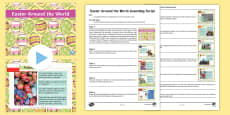 * NEW * Easter Around the World Assembly Script and PowerPoint Pack