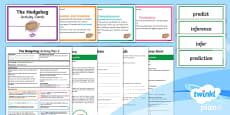 Y3 The Hodgeheg: Activity Plan 3 PlanIt Guided Reading Pack to Support Teaching on The Hodgeheg