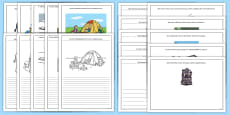 Story Starter and Picture Writing Frames