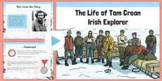 Tom Crean Informative PowerPoint