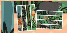 The Jungle Book A3 Display Borders