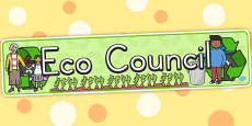 Eco Council Display Banner (Australia)