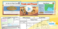 PlanIt - History UKS2 - Early Islamic Civilisation Lesson 6: Trade and Power Lesson Pack