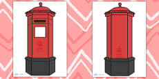Giant Postbox for Display