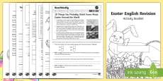 SATs Survival Year 6: Easter English Revision Activity Booklet
