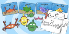 Story Sack Resource Pack to Support Teaching on Commotion in the Ocean