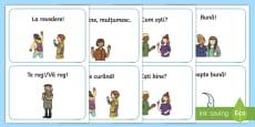Ghid de conversație ilustrat Cartonașe