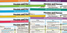 * NEW * EYFS Houses and Homes Lesson Plan and Enhancement Ideas