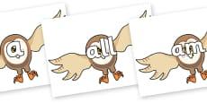 Foundation Stage 2 Keywords on Hullabaloo Owl to Support Teaching on Farmyard Hullabaloo