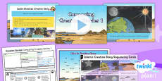PlanIt - RE Year 6 - Creation Stories Lesson 2: Comparing Creation Stories 1 Lesson Pack