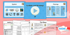 PlanIt - RE Year 4 - Buddhism Lesson 6: Symbols and Meanings Lesson Pack