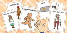 The Gingerbread Man Display Posters